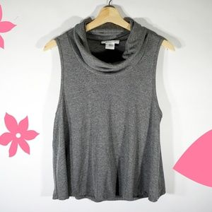 Urban Outfitters Sleeveless Cowl Neck Top Large